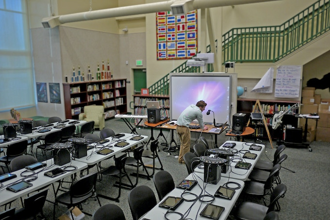 A BandLab Music Ed class room?  With your support it will happen.