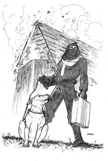 Liberator : 4 Issue Comic Series by Matt Miner & Joel