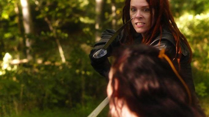 Arabel of the Ebon Spider takes on Brenn, Daughter of Tairol