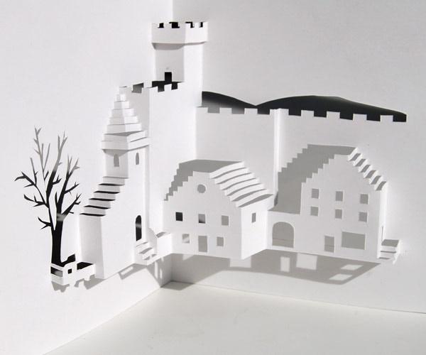 Pop-up paper house by Katherine Belsey — Kickstarter