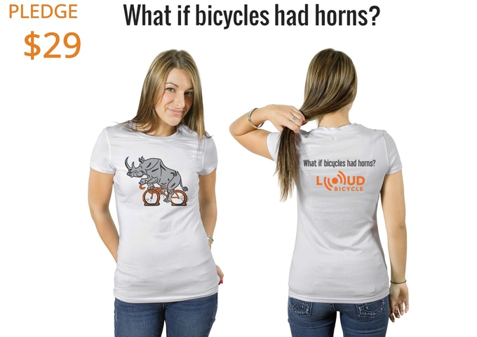 Make the Rhinocyclist happy and get a T-Shirt