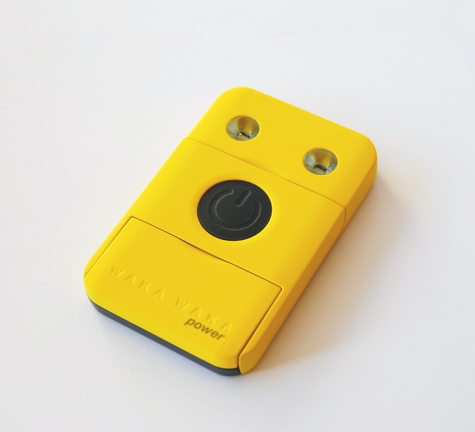 yellow is the WakaWaka signature color (this is a proto)