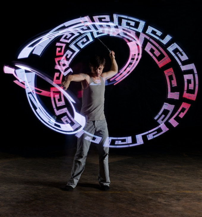 SpinFX Spectra Poi in Action!