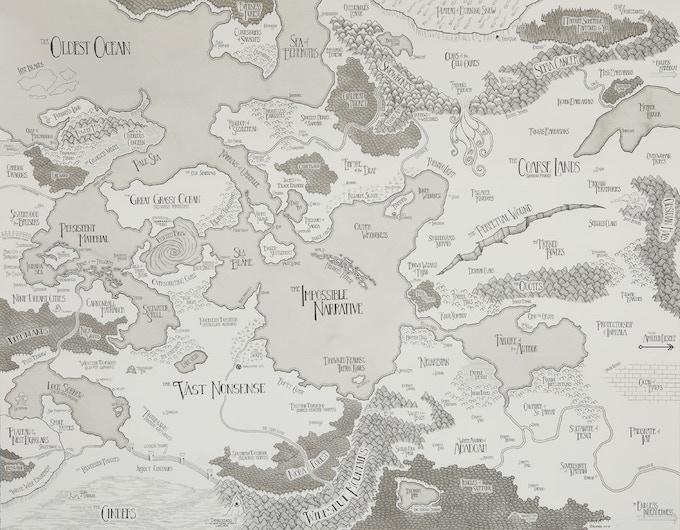 Map of Western Refractoria (2010)