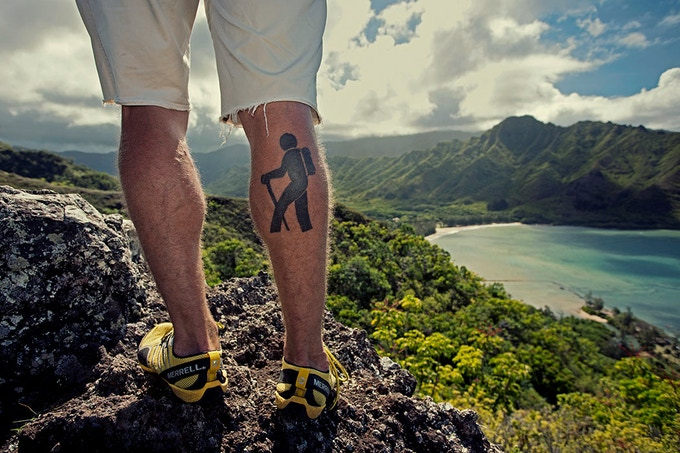 Olivier Renck's photographic story exploring the beautiful and unspoiled trails of Oahu with Chase Norton.