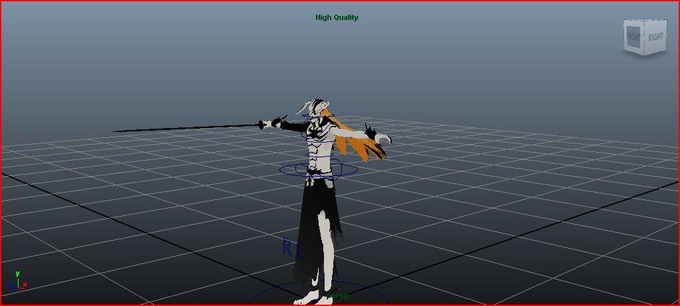 OK I Know bad video but this is serious this is what im doing this moment Full 3d great looking models P.S This model will not be in the game im just using it to make the rig