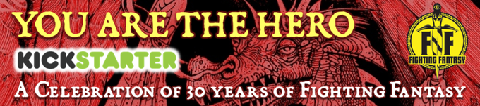 "YOU ARE THE HERO: The ""history book"" of the Fighting Fantasy series"