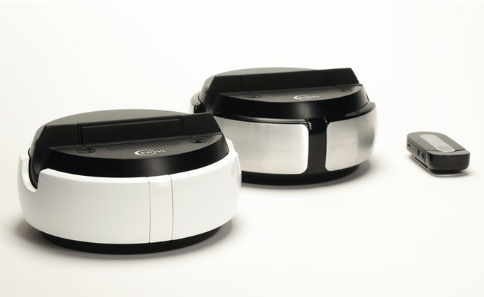 White and Silver editions of the new Swivl