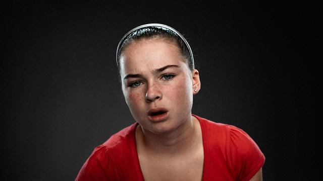 Jessica Hardy, Age: 13, Playing Tekken Dark Ressurection. Location: Grimsby, UK 2008.