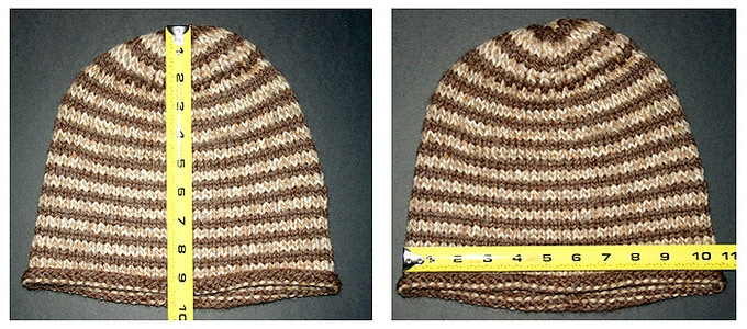 MVY is our biggest beanie in both height and width.
