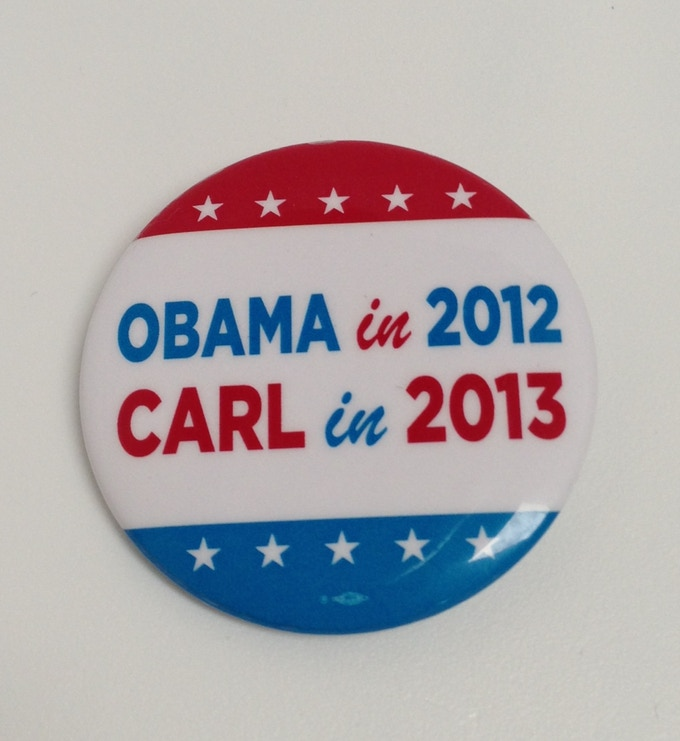 Carl in 2013 button