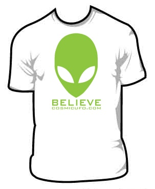 $25 T-Shirt pledge reward - FOR THE TRUE BELIEVER ! ! !