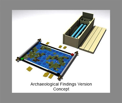 Archaeological Findings Concept