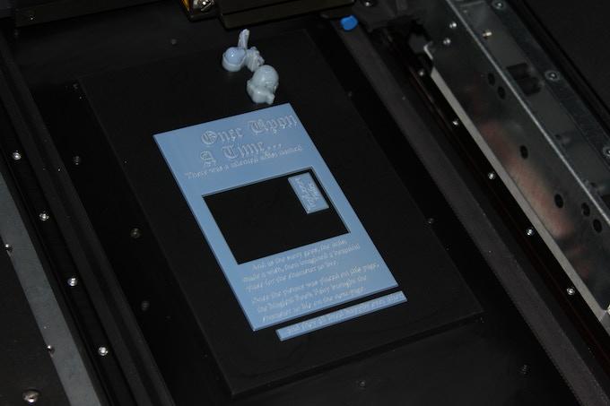 Rapid Prototype Book Frame