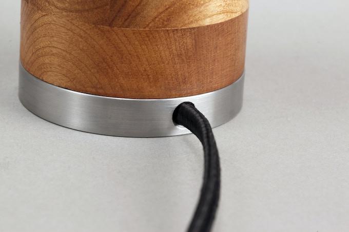 detail of cord at base