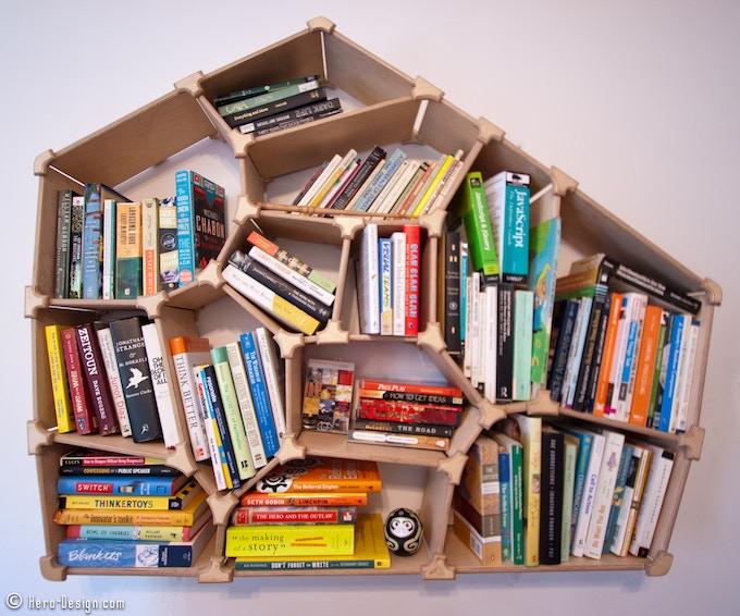 The First Voronoi Bookshelf