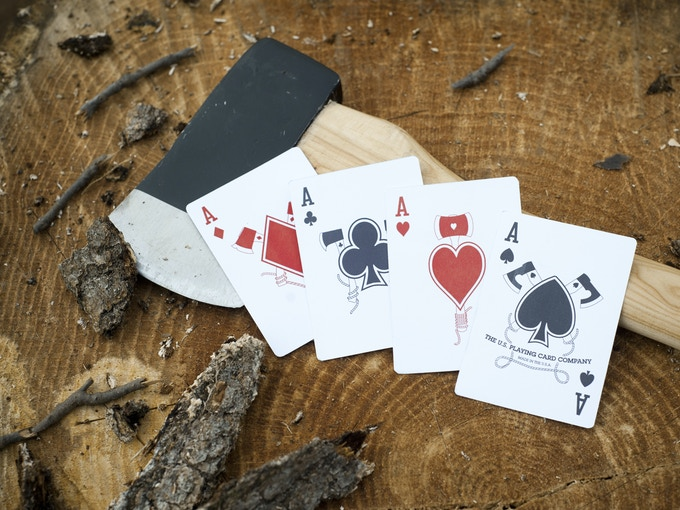 Mock-up of Aces.