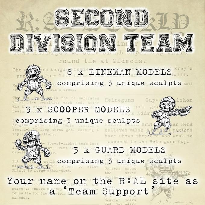 Second Division Team