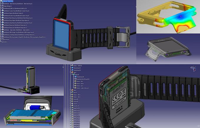 Mechanics: CAD views
