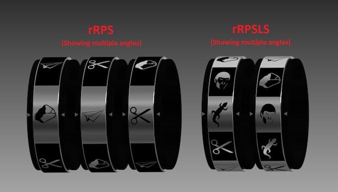 RPSLS symbols by Alexander Gwynne