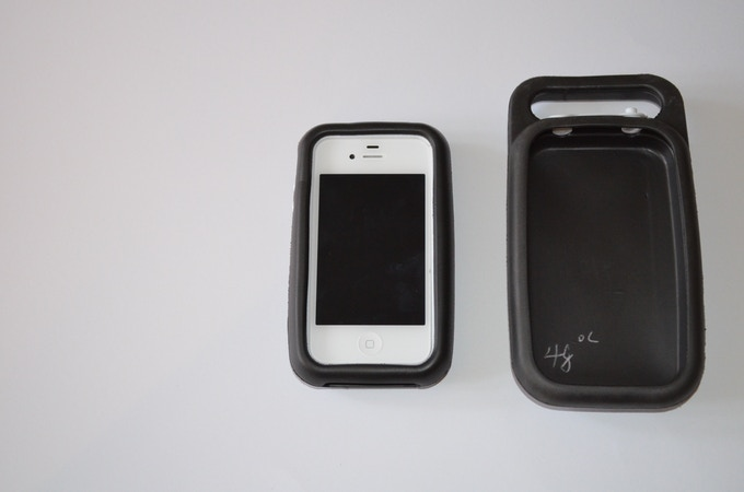 phone in case with base