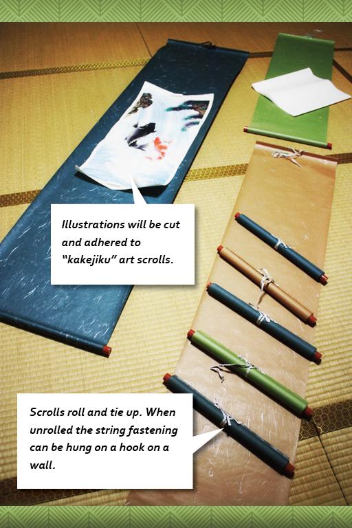 """Kakejiku"" Art Scroll"