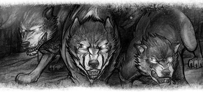 Beware the wolf-kin – Spirits of the Henis-a-paka (or the World Between)