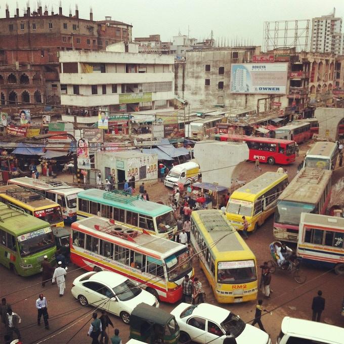 First Bus Map of Dhaka by Urban Launchpad — Kickstarter