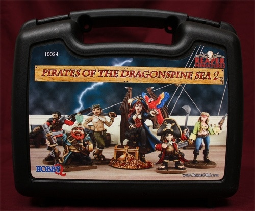 Reaper Miniature Set #2 - Pirates