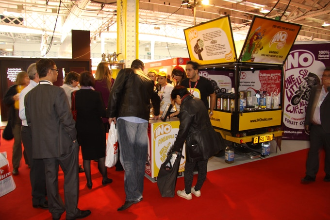 INO proved to be a sensation amongst the Caffe Culture Show guests