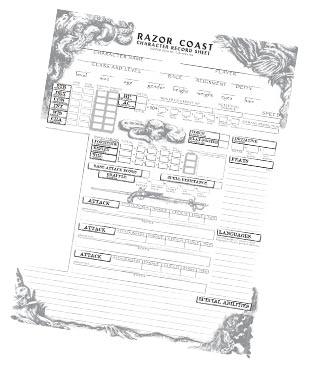 Razor Coast by Frog God Games —Kickstarter
