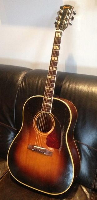 Phil's 1953 Gibson Southern Jumbo guitar