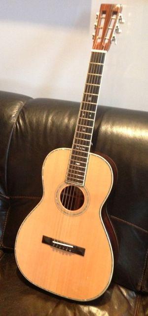 "Reward ""Bragging Rights"" package- Blueridge Slot Head guitar"