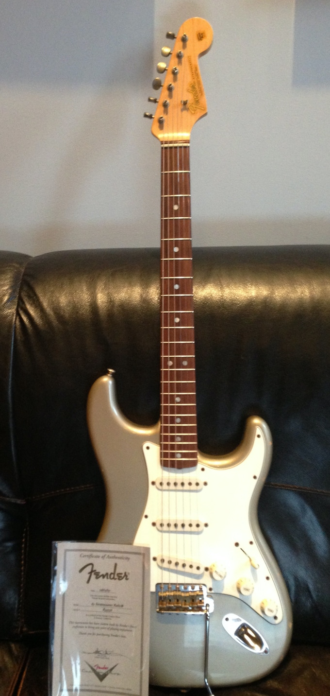 """""""Solid Gold"""" package~ Phil's Shoreline Gold Stratocaster"""