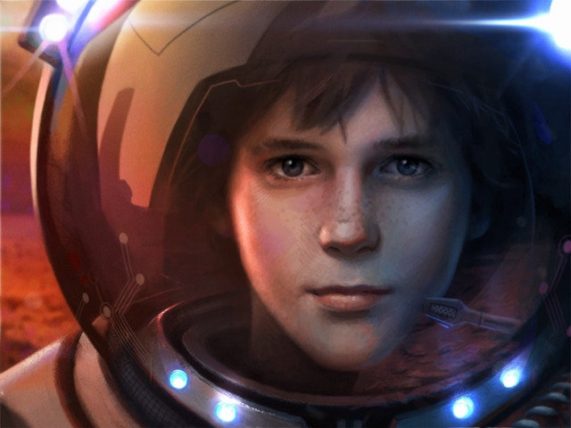 Jarod's rendering of Jett. Your backing means artwork like THIS for the book!