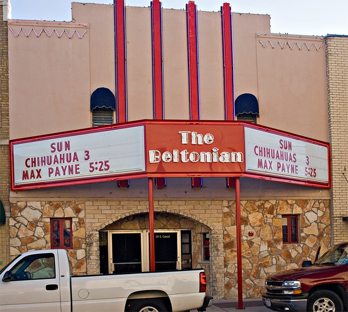 When The Beltonian was once a movie theater...  It WILL be one again!
