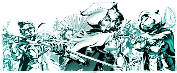 Back Akaneiro: Demon Hunters - Join the Order!