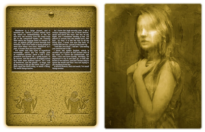 Sample Chapter Open Spread from Mummy: The Curse