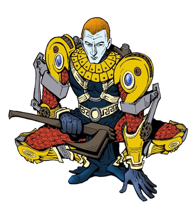 Prince Tanab Concept (No Helmet)