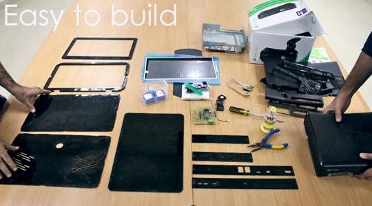 Darkmatter Xbox Laptop and DIY Kit by Techjango — Kickstarter