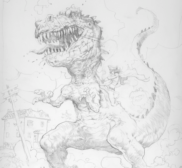 "Warriors Of The Dawn English Subtitle: FEARLESS DAWN ""Jurassic Jungle Boogie Nights"" Comic Book"
