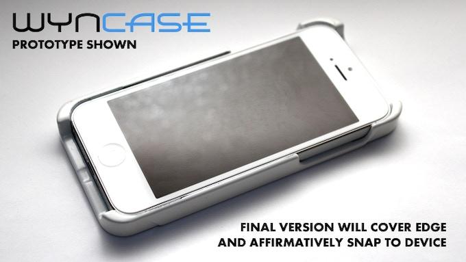 "WynCASE in ""Phone-Mode"""