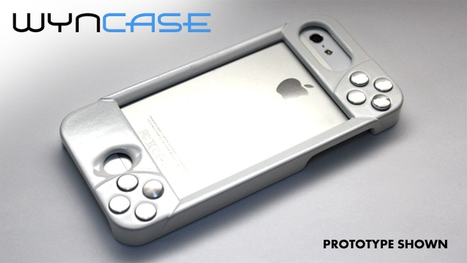 """WynCASE in """"Phone-Mode"""" (Back)"""