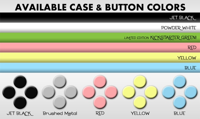 You will be able to select your color options after the project deadline.