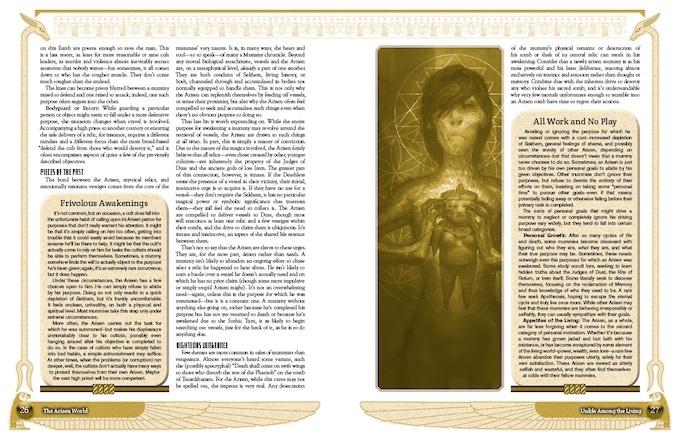 Sample Interior Page Spread