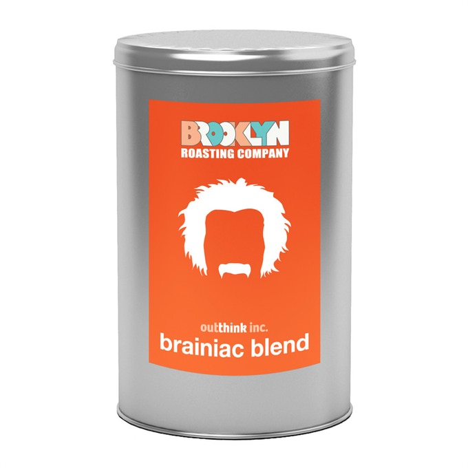 Limited-edition Brooklyn Roasting Company Brainiac Blend Coffee!