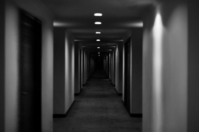 Concept Shot - 'Dark Corridor'
