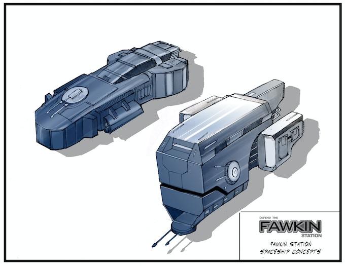 Ship concepts.