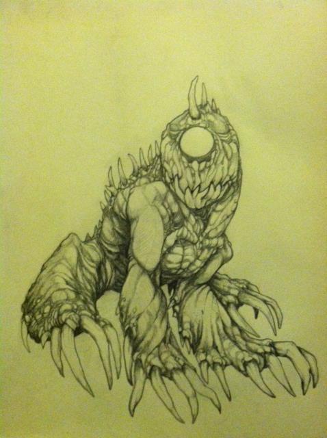 Fulgrous: The Hound of Cruelty. (Summon Spirit) (Jared Sandall)