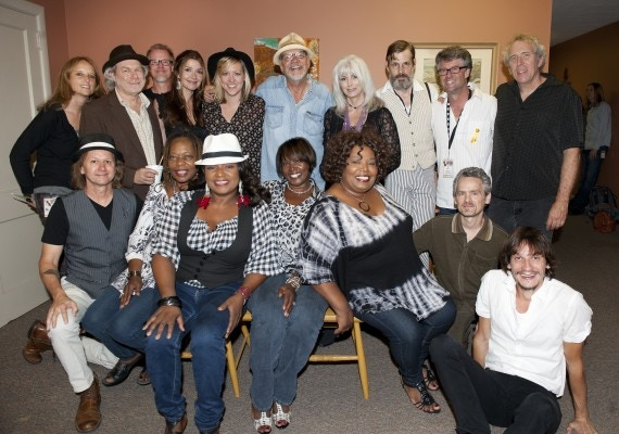 Phil Backstage before performing the entire Mercyland project in September, w Buddy Miller, Emmylou Harris, Matraca Berg, Amy Stroup, N Mississippi Allstars, McCrary Sisters, Shawn Mullins, and Malcolm Byrne.